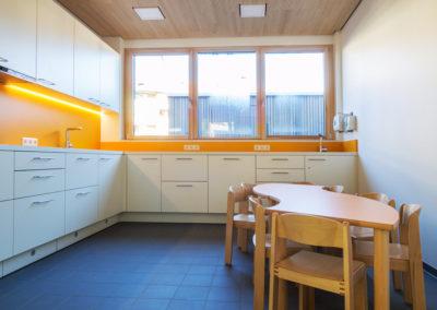 Keramische Bodenfliesen Küche