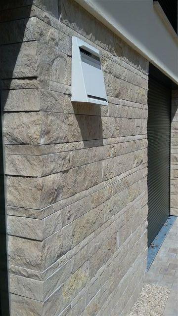 Natursteinverblender Außenwand/Sockel