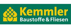 Kemmler-Logo Baustoffe und Fliesen